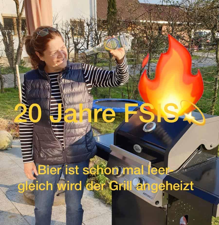 Bild Grillen Heidi