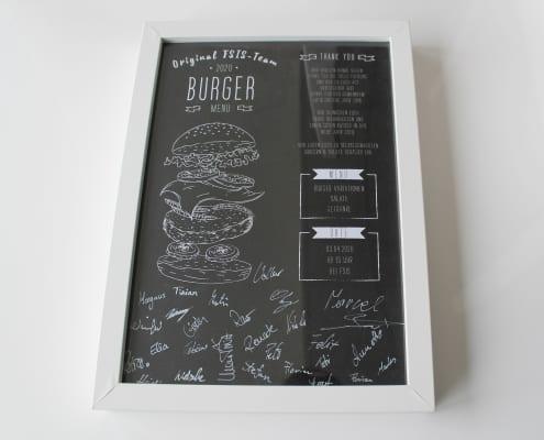 Gutschein zum Burger-Grillen