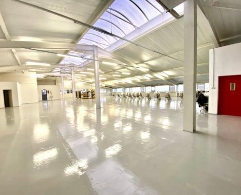 Neue Halle in FN